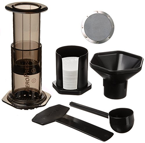 Aerobie Aeropress Coffee Maker Filters : Aerobie Aeropress Coffee Maker with Ultra Fine Stainless Steel Reusable Coffee Filter - Coffee ...