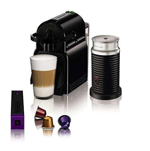 magimix nespresso inissia coffee machine with aeroccino black coffee beansv. Black Bedroom Furniture Sets. Home Design Ideas