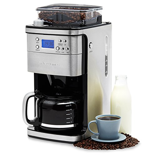 Andrew James Filter Coffee Machine With Integrated Bean