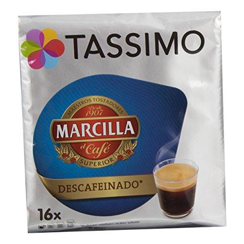 Tassimo T Discs Marcilla Decaf Decaffeinated Espresso